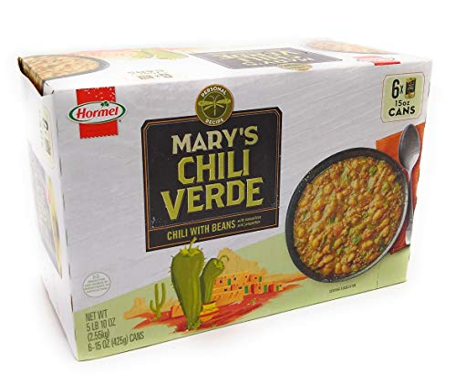 Mary's Chili Verde Chili w/Beans 6-15oz cans