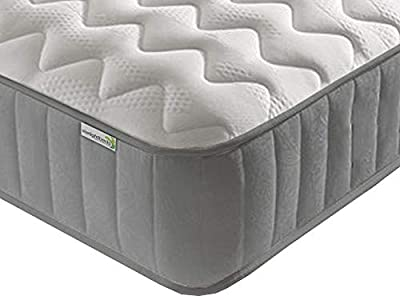 Cool Blue Memory Foam Mattress. Sprung Mattress with Cool Blue Foam