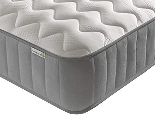 Starlight Beds - 5ft Mattress. Memory Foam Mattress. Sprung Mattress with Memory Foam (Kingsize Mattress)