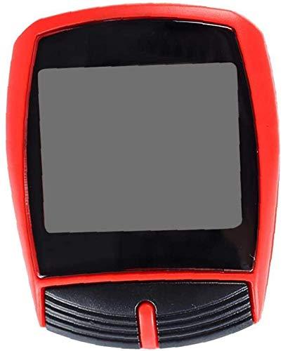 Jilibaba Velocímetro universal para bicicleta, velocímetro con retroiluminación LCD