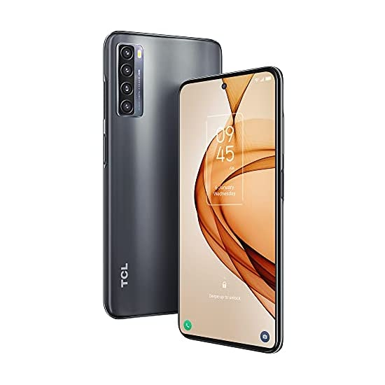 """TCL 20S Unlocked Android Smartphone with 6.67"""" Dotch FHD+ Display, 64MP Quad Rear Camera System, 128GB+4GB RAM, 5000mAh…"""