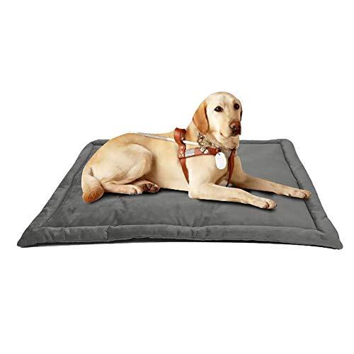 Cama for perros Mat, cajón del perro estera del cojín, colchón del perro lavables Mantas Anti-Slip Animales perrera Pad duradero cama del cajón del perro del animal doméstico de la Pequeña Mediana Gra