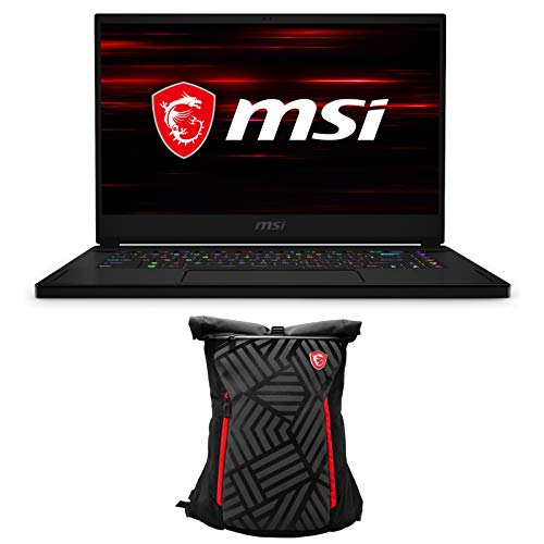 """EXPC GS66 Stealth 10SE-442 Enthusiast by MSI 15 Inch Gaming Laptop (i7-10875H, 32GB RAM, 1TB NVMe SSD, RTX 2060 6GB, 15.6"""" Full HD 240Hz 3ms, Windows 10 Pro) Professional Gamer Notebook Computer"""