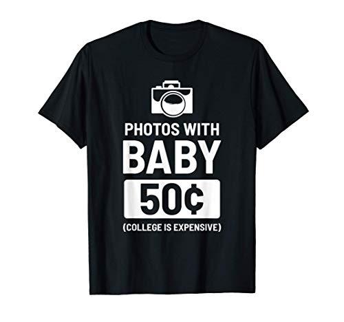 Fotos con el bebé padre del niño pequeño Camiseta