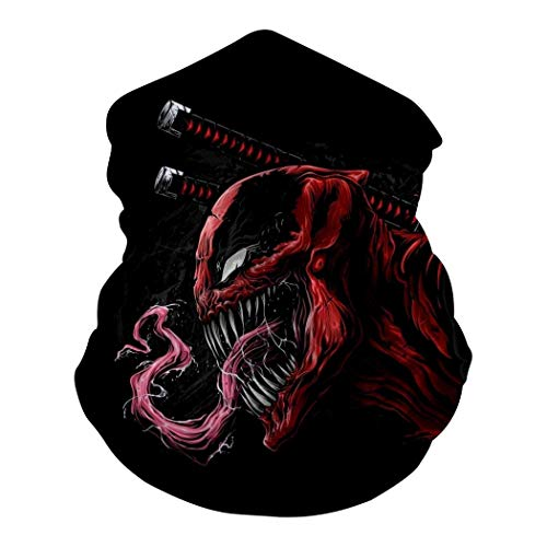 Dead-Pool and Ve-Nom Seamless Neck Magic Scarf Multifunction Face Mask for Motorcycle Cycling Headbands