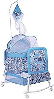 Cradle for Children with Mosquito Net by Babylove, Blue, 27-708G