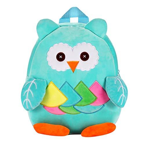 AIni Kinder Rucksack, Kinder Kinder Jungen Mädchen Mode Niedlichen Karikatur 3D Tier Schulter Rucksack Taschen Rucksäck Kinderrucksäcke B