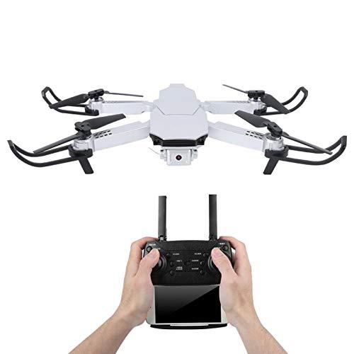 Emoshayoga Mini Drone sin Cabeza, Juguete Educativo para niños, Juguete para niños, Reduce el estrés por presión(Silver, 1080P)