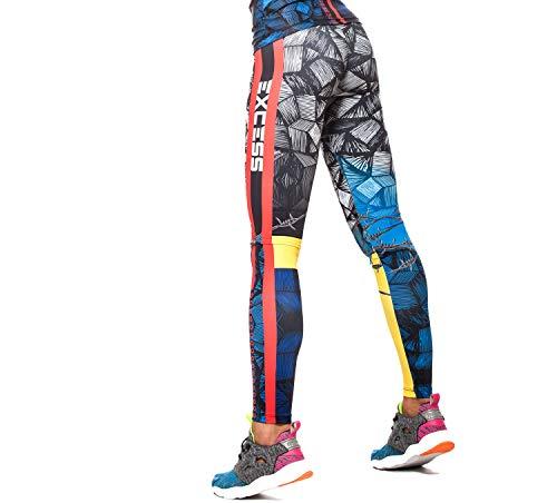 Excess Leggins Mujer Fitness Yoga Mallas Deportivo Pilates Running Gimnasio Maillot de...