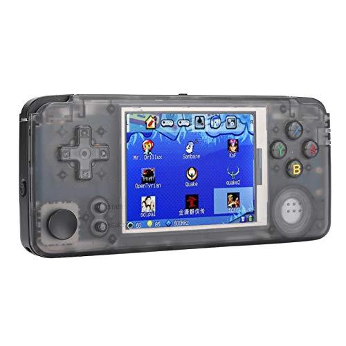 FOLOSAFENAR Spielekonsolen-Controller USB2.0 Retro-Joystick-Controller 3,5-mm-Kopfhörerbuchse Tragbare 32G-Speicherkarte Super gehärtetes Glas für die Spielekonsole