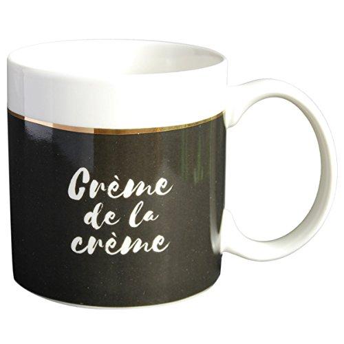 LA CARTERIE Mug cadeau à message Crème de la crème