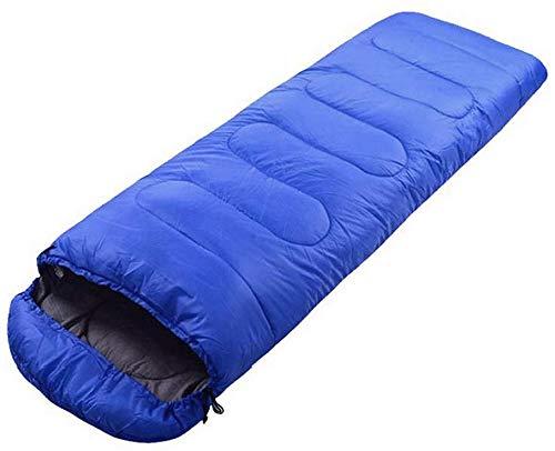 Venus valink Tragbarer Leichter Umschlag-Schlafsack mit Kompressionssack für Camping, Jagd, Wandern, Rucksackreisen, Pickinic-Schlafsack blau