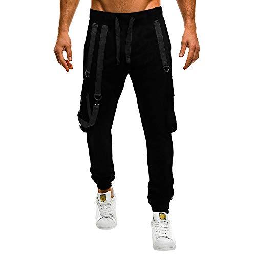 SHE.White Jogginghose Herren Jumpsuits – Männer Schlinge Trainingsanzug Modern | Baumwolle Jungen Slim Fit Freizeithose | | Sporthose – Training – Trainingshose |