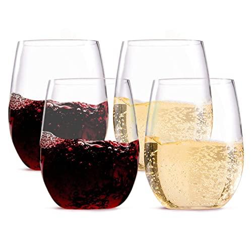 Wine glasses thoughtful romantic Honeymoon Gift Basket Ideas