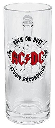 AC/DC Rock Or Bust Studio Recordings Jarra de cerveza Standard