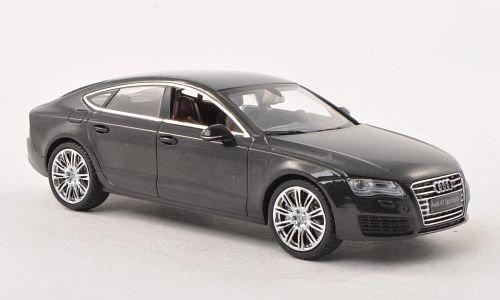 Audi A7 Sportback, met.-DKL.-grau , Modellauto, Fertigmodell, Kyosho 1:43