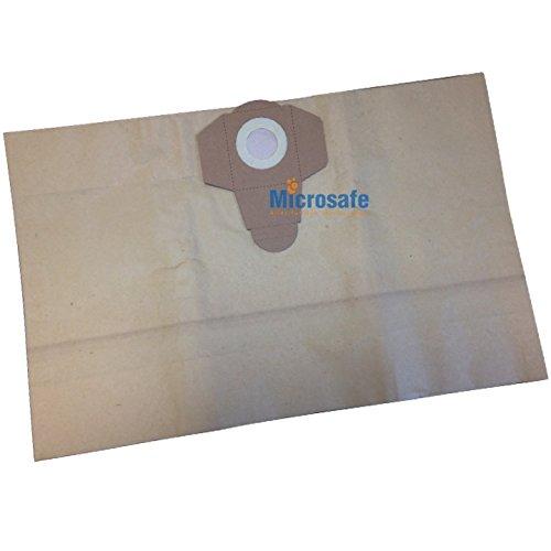 10 Staubsaugerbeutel für Aldi Workzone Nass- und Trockensauger 25 Liter Volumen, Filtersäcke von Microsafe®