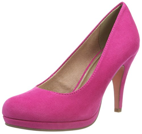 Tamaris Damen 22407-21 Pumps, Pink (Fuxia 651), 38 EU