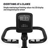 Klarfit Relaxbike 6.0 SE Liege-Ergometer • Cardiobike • Heimtrainer • Schwungmasse: 12 kg • 8-Stufiger Magnetwiderstand • Tablethalterung • PulseControl • SilentBelt Drive • max. 100 kg