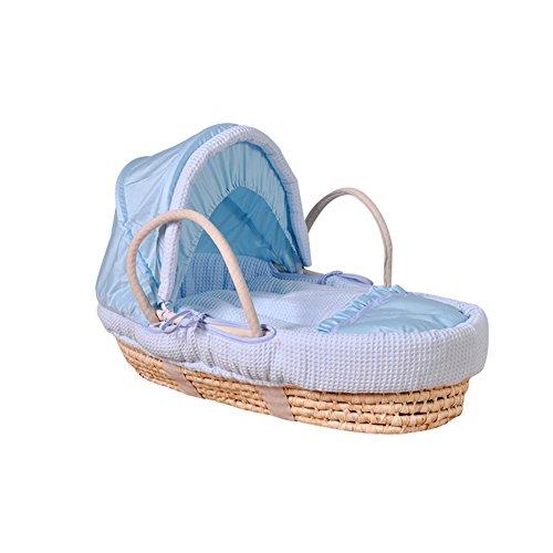 Flash- Moses Basket, Newborn Car Portable Panier pour bébé, Panier de couchage Lit berceau Lit de bébé (Couleur : Package A)