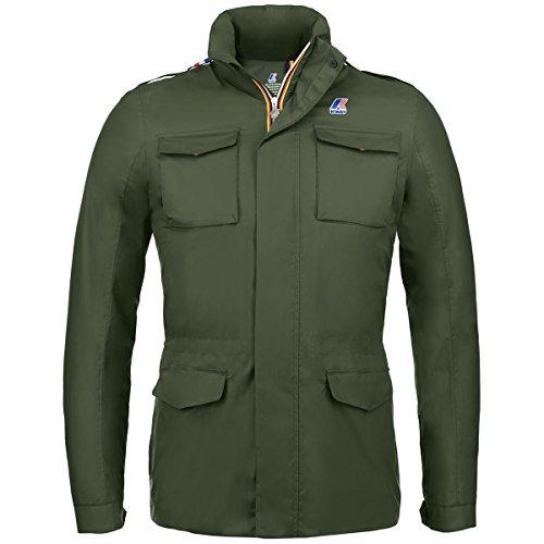 K-Way Field Jacket Manfield Nylon Jersey K007EA0 D05 K007EA0