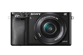 "Sony Alpha 6000 Systemkamera (24 Megapixel, 7,6 cm (3"") LCD-Display, Exmor APS-C Sensor, Full-HD, High Speed Hybrid AF) inkl. SEL-P1650 Objektiv schwarz (B00IE9XHE0) | Amazon price tracker / tracking, Amazon price history charts, Amazon price watches, Amazon price drop alerts"