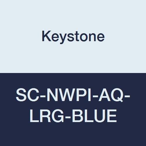 Keystone SC-NWPI-AQ-LRG-Blue Laminated Finally resale start Polypropylene A Non Skid Financial sales sale