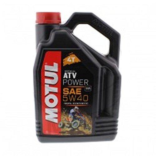 Olio per motori a 4 tempi - 714.02.82 - Motul sintetico ATV potere 5W40 4 litri