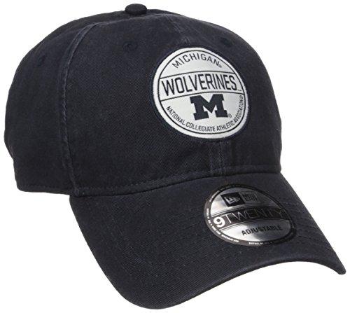 NCAA Michigan Wolverines Adult Core Standard 9TWENTY Adjustable Cap, One Size, Navy