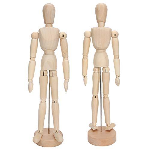 Durable Wooden Model, Wooden Model Kit, Art Figure Model for Art Sketch Model Table Toys Decorations Photography Props
