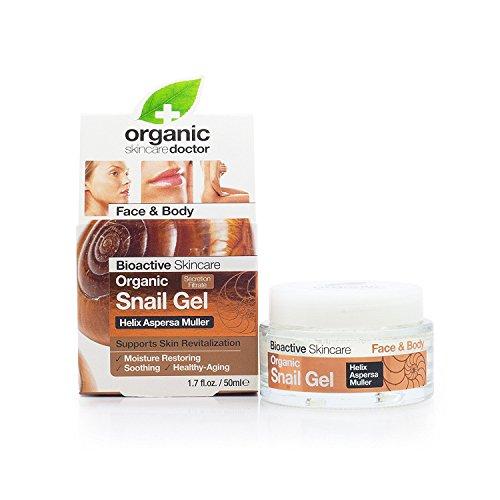 Dr. Organic Snail Gel Bava di Lumaca Filtrata - 50 ml