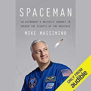 Spaceman audiobook cover art