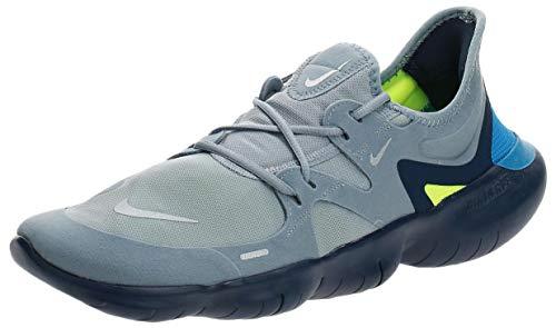 Nike Free RN 5.0 Men's Running Shoe Obsidian Mist/Metallic Silver 10.5