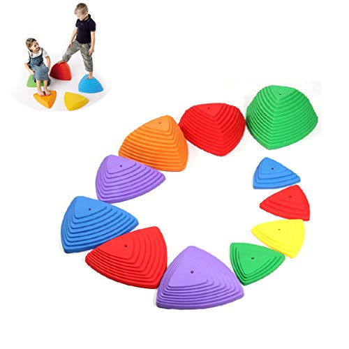 Buy Stepping Stones for Kids Indoor and Outdoor Balance Promote Coordination, Balance, Strength Chil...