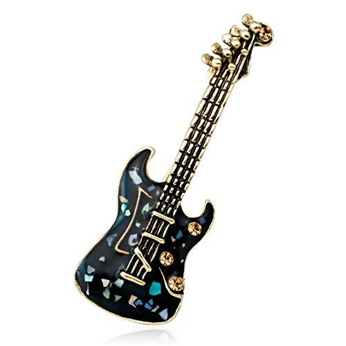 SHANGZHIQIN Pin de Solapa Escudo Traje Traje Broche, Americana Mini violín Hombres Muñeco de Nieve Árbol de Navidad