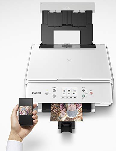 Canon PIXMA TS6220 Wireless All in One Printer with Mobile Printing, White Photo #6