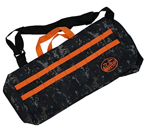 Linn James Children's Camoflauge Tactical Utility Storage Equipment Bag | Great for Play with Nerf Guns N-Strike Elite Series Foam Dart Blasters and Accessories