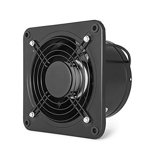 Ventilador industrial Extractor Ventilador comercial Ventilador Ventilador de escape axial de metal 250 mm Apertura para almacén Restaurante Garaje