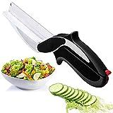 Kitchen Scissors and Salad Cutter – Veggie...