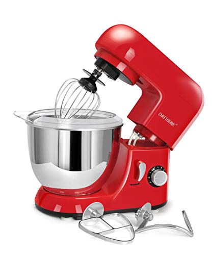 CHEFTRONIC SM985-Red Standing Mixer Only $67.99 (Retail $89.99)