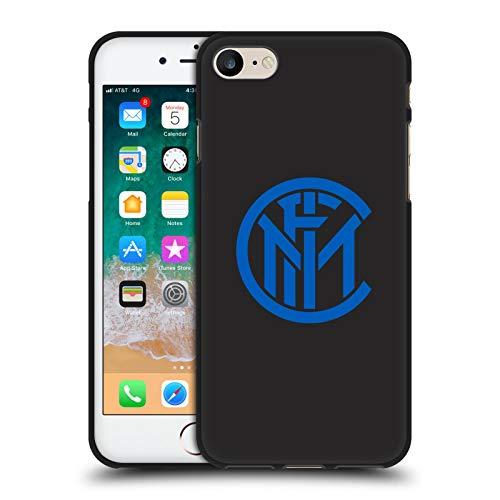 Head Case Designs - Carcasa oficial del Inter Milan para iPhone 7/iPhone 8/iPhone SE 2020, color negro