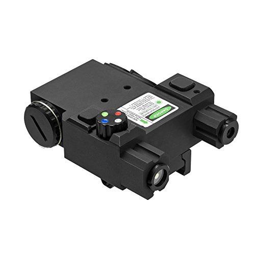 NcSTAR Green Laser and 4-Color Navigation LED Lights Combo