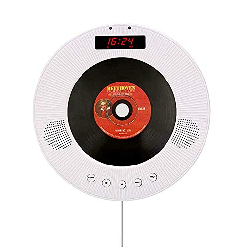 For Sale! JJIIEE Bluetooth DVD/CD Player with Remote Control,Multifunctional Wall-Mounted Night Ligh...
