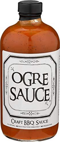 BBQ Sauce - Ogre Sauce - All-Purpose Craft Barbecue Sauce - Award Winning BBQ Sauce - Best BBQ Sauce You've Ever Had