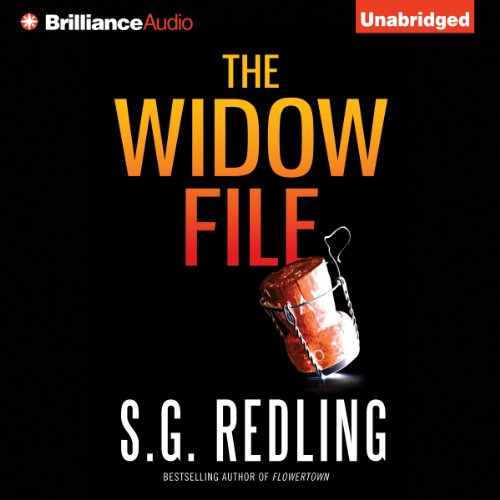 The Widow File audiobook cover art