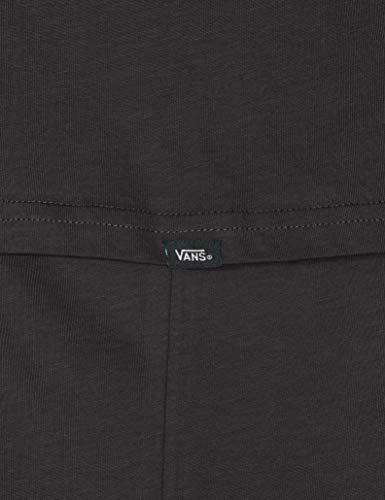 Vans Easy Box SS T-Shirt, Nero (Black/Fuchsia Purple B0q), Medium Uomo