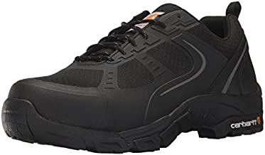 Carhartt Men's Oxford Black Lightweight Hiker Steeltoe CMO3251 Industrial Boot, Black Mesh and Synthetic, 11 W US