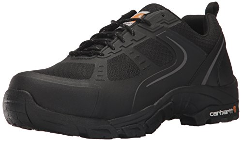 Carhartt Men's Oxford Black Lightweight Hiker Steeltoe CMO3251 Industrial Boot, Black Mesh and Synthetic, 9.5 W US