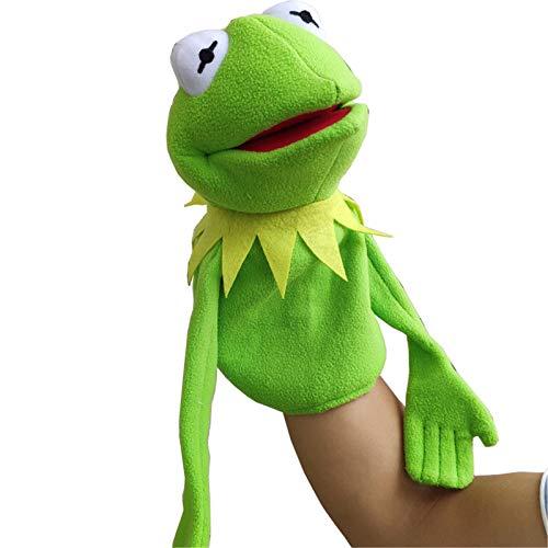 LucaSng Marionetas De Rana Kermit, Juguete De Felpa, Muñeco De Ventrílocuo Muppet Show, Regalo De Cumpleaños para Su Hijo 40cm/ B