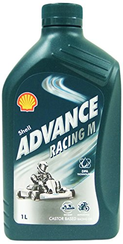 Shell 1535001 Motoröl Advance Racing M, 1 L